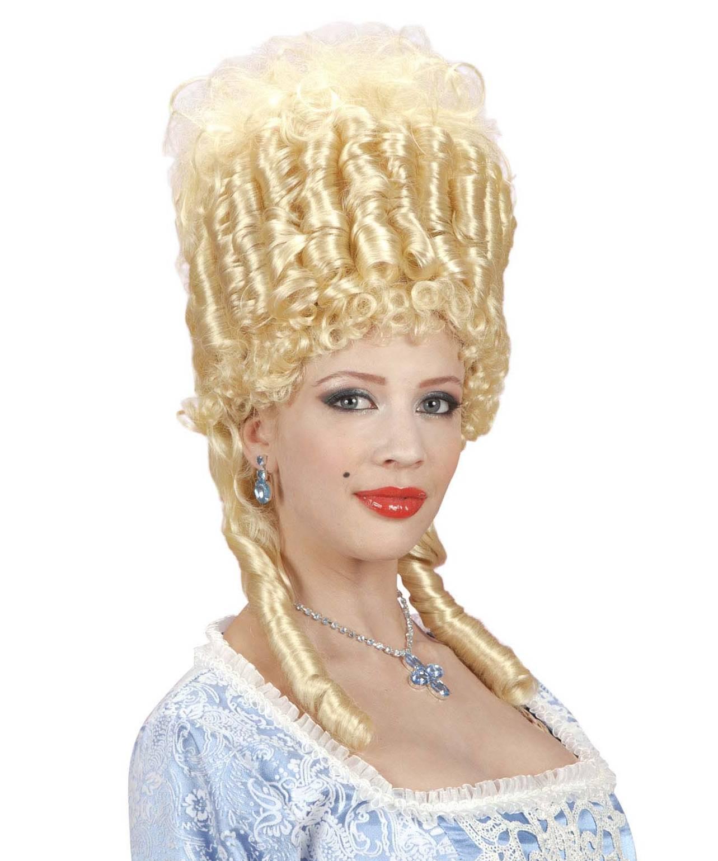 Perruque-Marquise-blonde-Marie-Antoinette