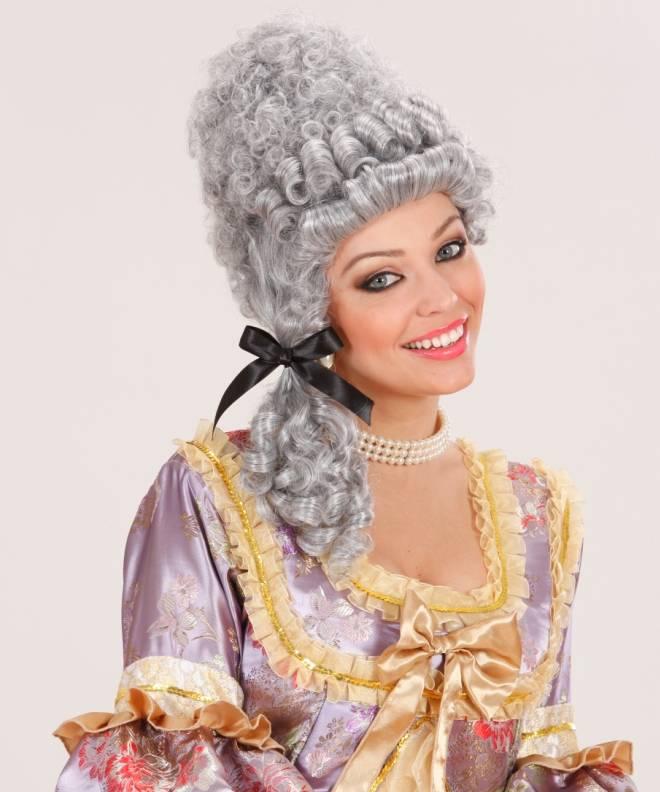 Perruque-Marie-Antoinette-grise