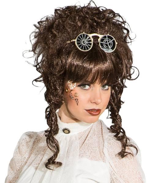 Perruque-Steampunk-femme-brune