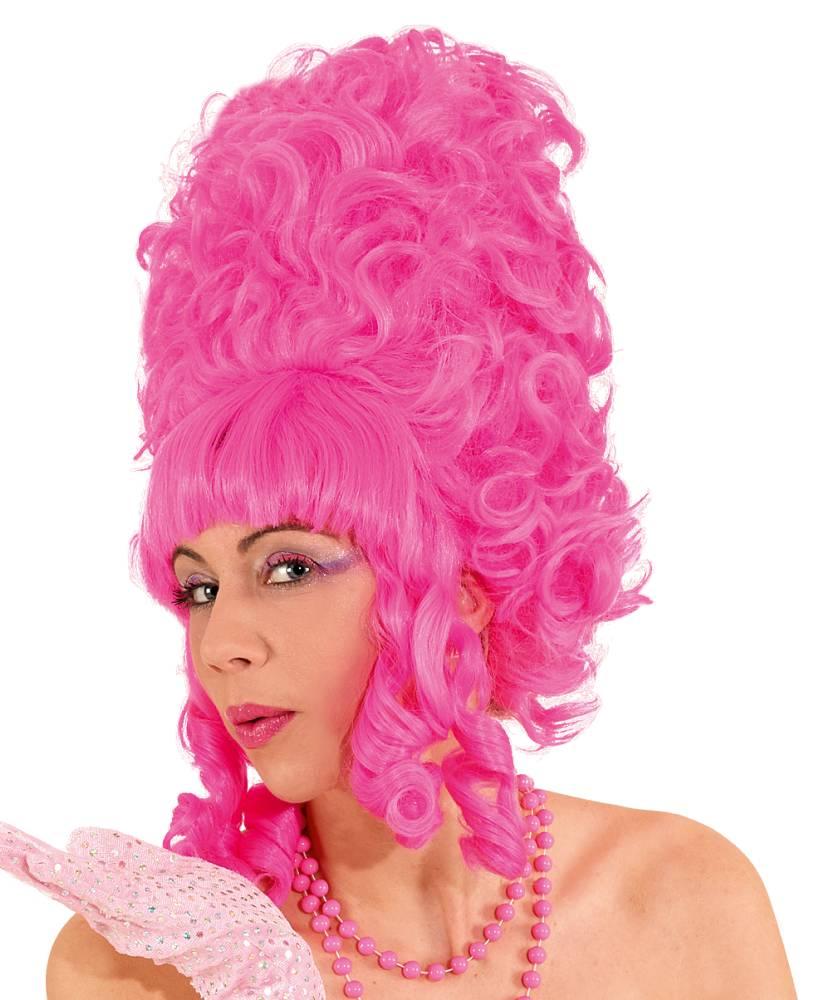 Perruque-Baroque-femme-rose
