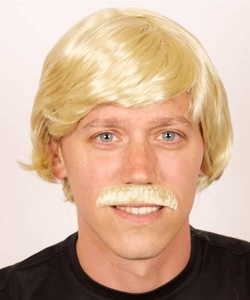 Perruque-homme-blond-avec-moustache