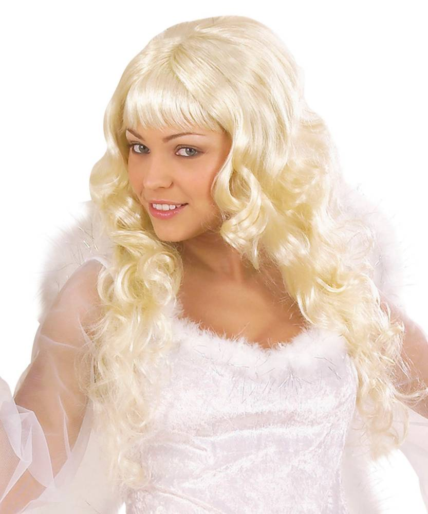 Perruque-Blonde-boucl�e-Ang�lique