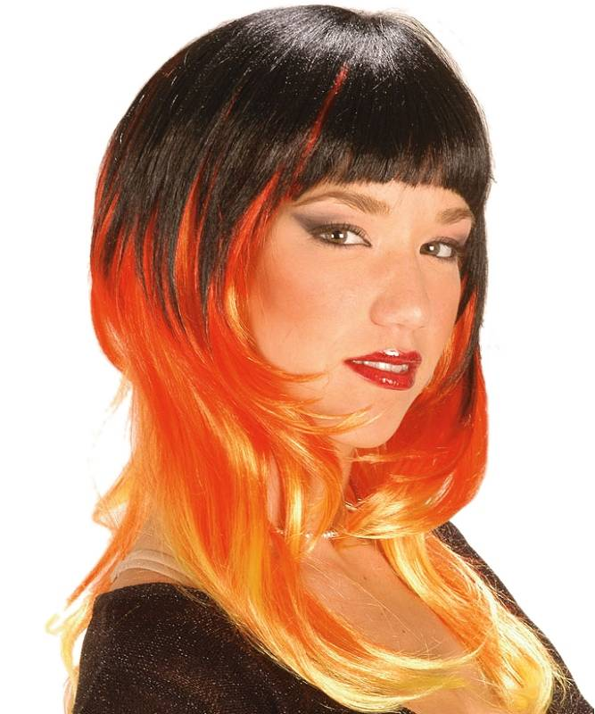 Perruque-Noire-et-orange