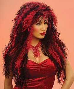 Perruque-Liloo-noir+rouge