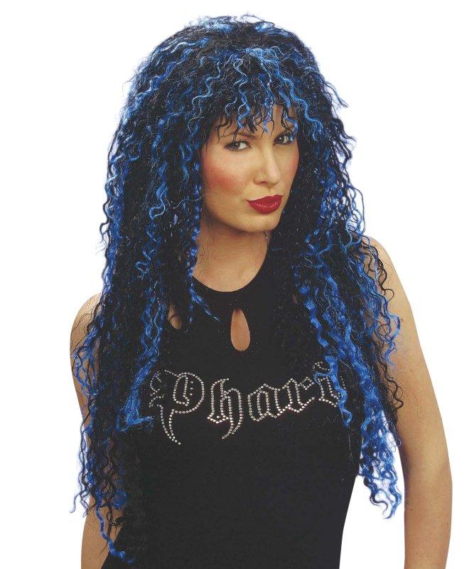 Perruque-Liloo-noir+bleu