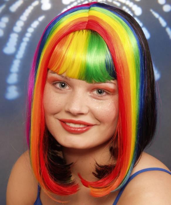 Perruque-Arc-en-Ciel-Rainbow