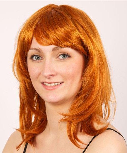 Perruque rousse katia - Perruque de déguisement