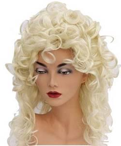 Perruque-Blonde-bouclée