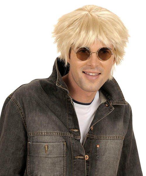 Perruque-Blonde-homme-coiffé-décoiffé