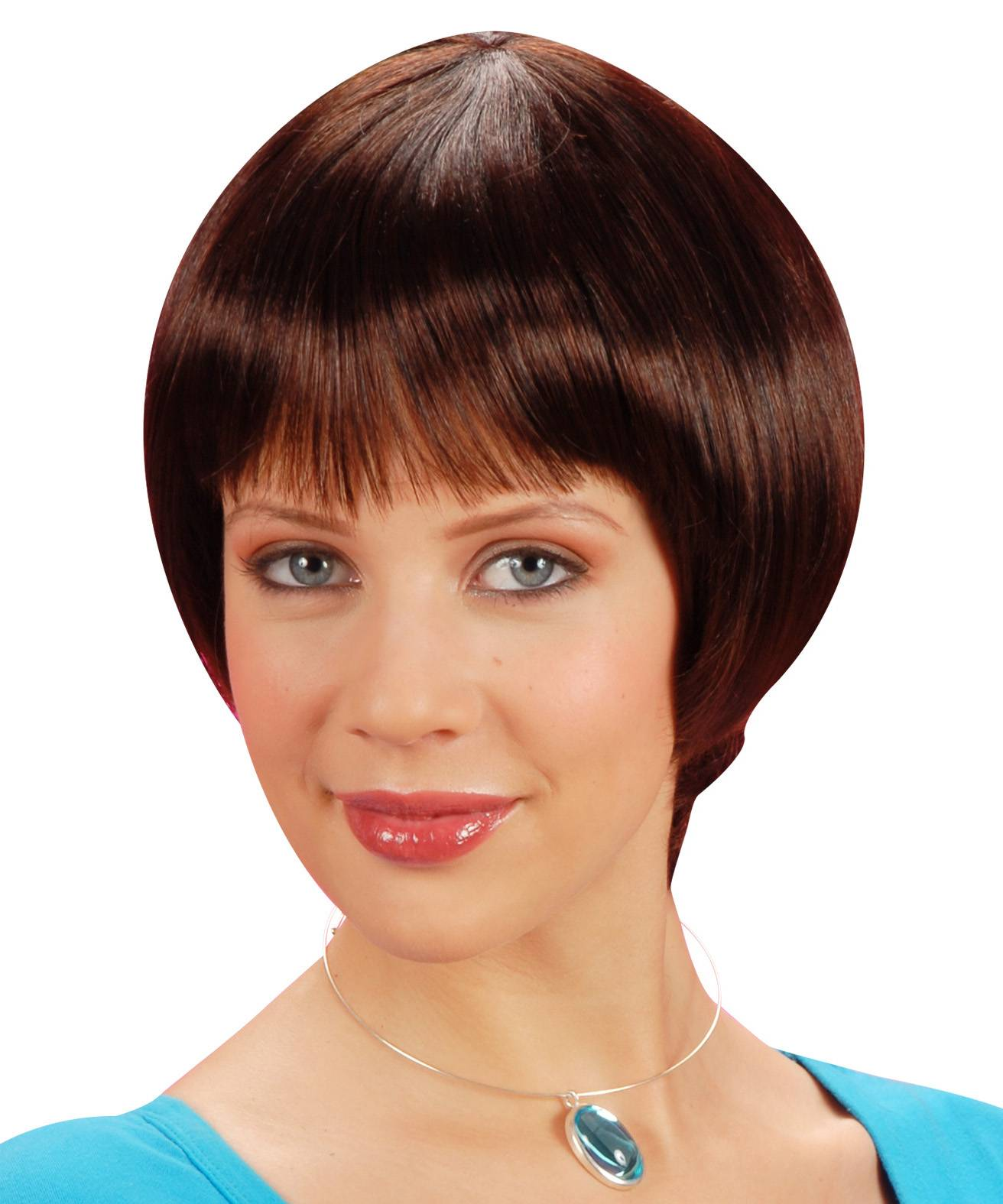 Perruque-brune-très-courte