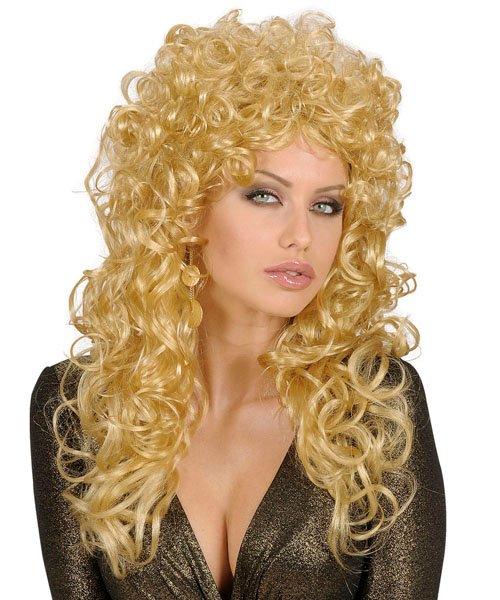 Perruque-Longue-bouclée-blonde