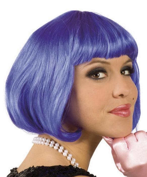 Perruque-Petit-prix-carr�-bleu