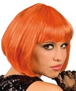 Perruque-Petit-prix-Carré-orange
