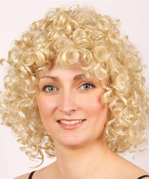Perruque-Bouclée-Blonde