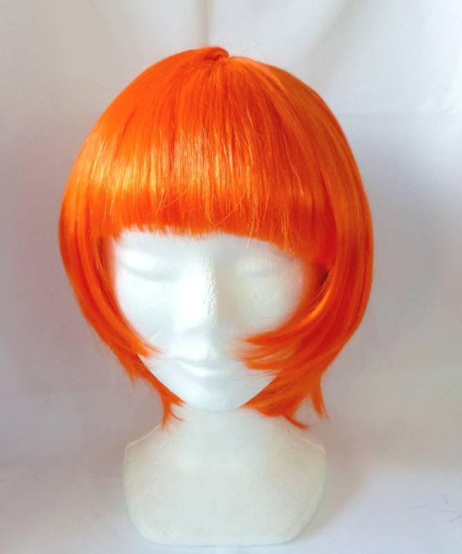 Perruque-Carré-Orange
