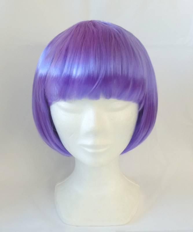 Perruque-Carré-violet