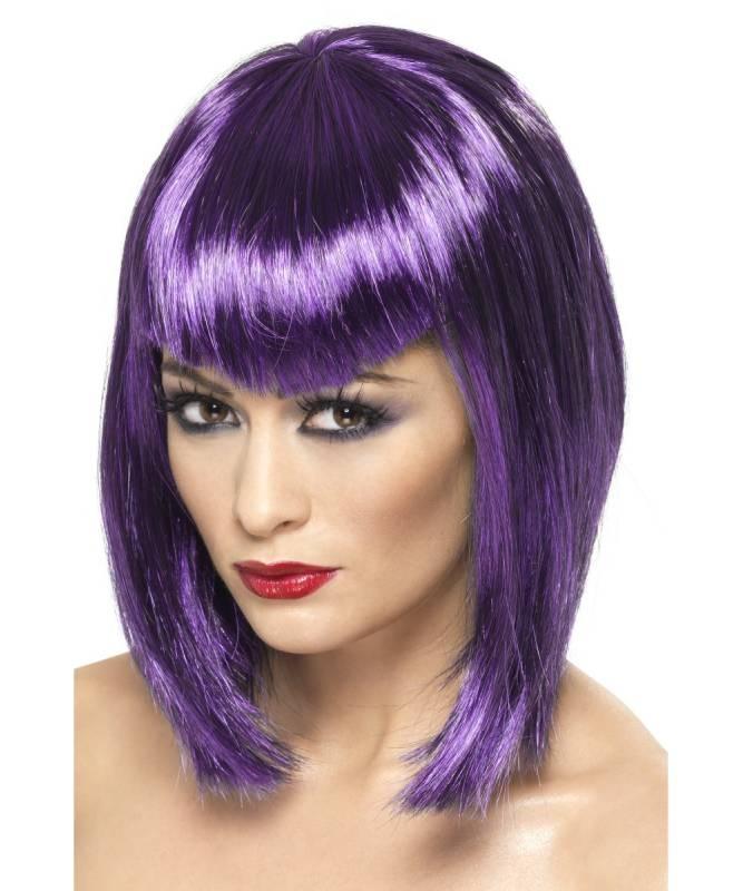 Perruque-Vamp-Violette