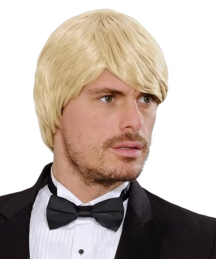 Perruque-Homme-blond