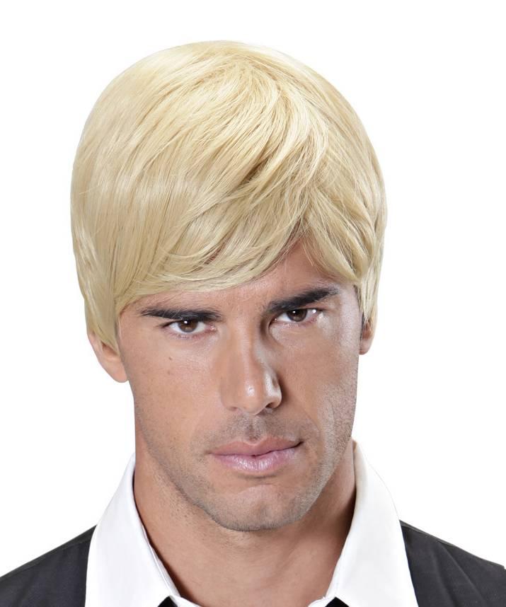 Perruque homme blond - Perruque de déguisement
