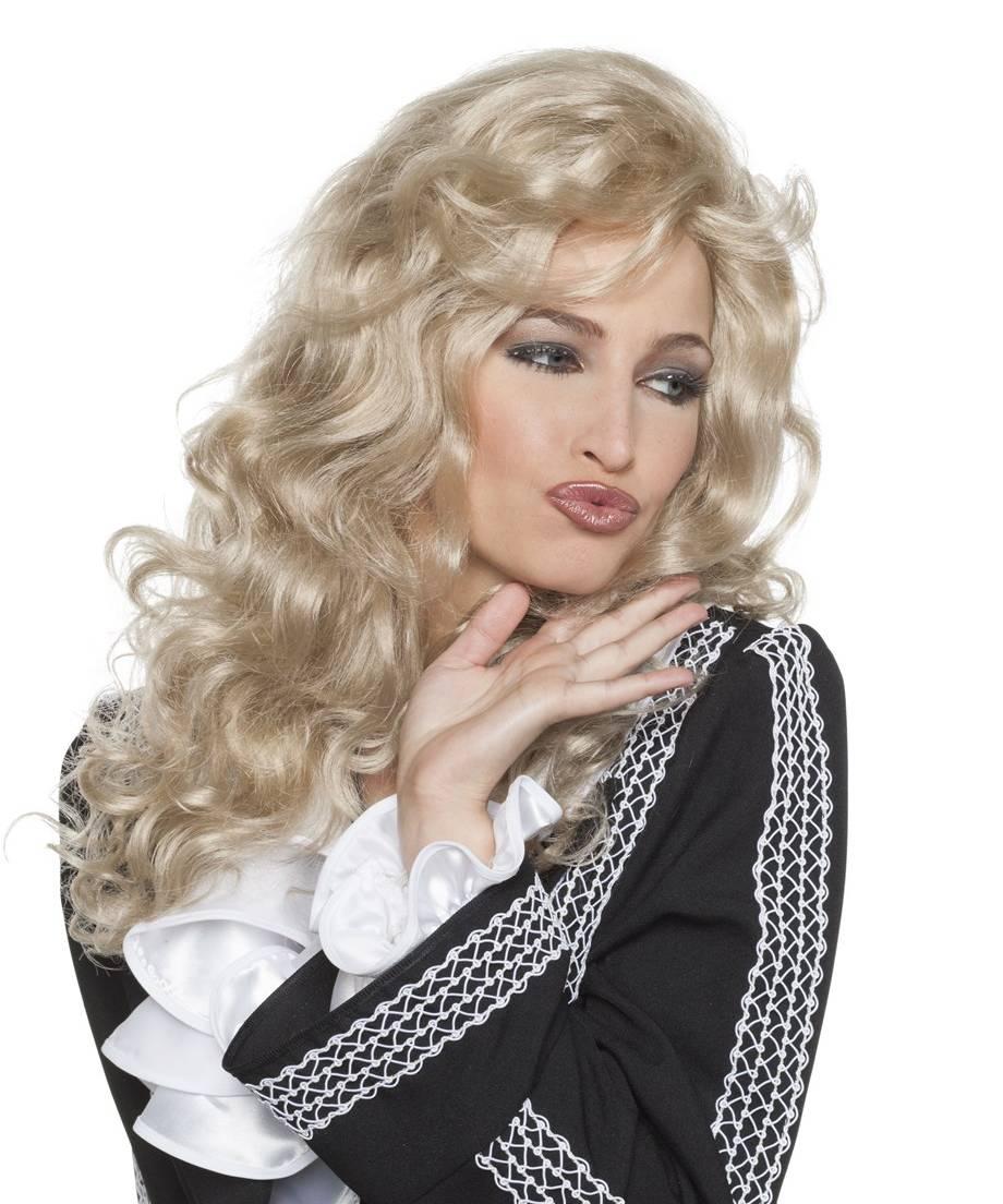 Perruque-bouclée-blonde-longue