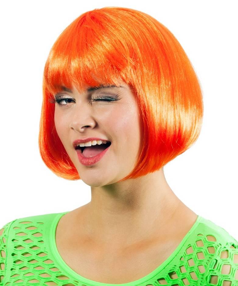 Perruque-orange-Cabaret