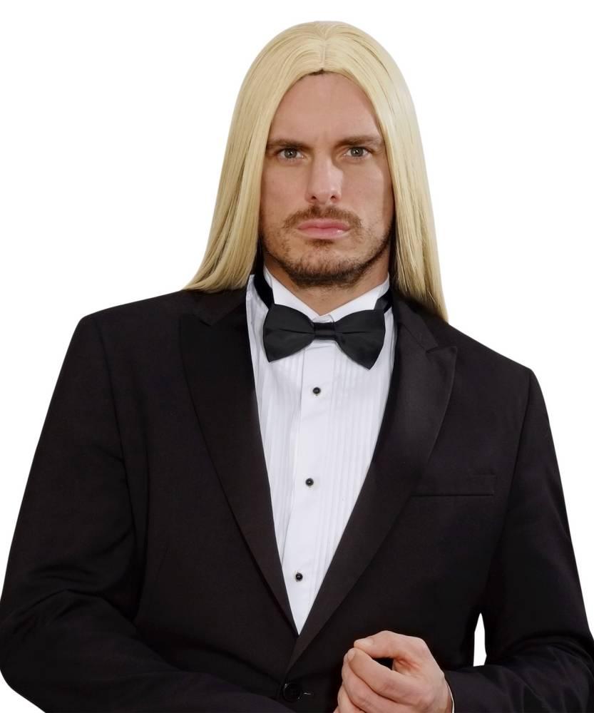 perruque homme cheveux longs blonds p20354. Black Bedroom Furniture Sets. Home Design Ideas