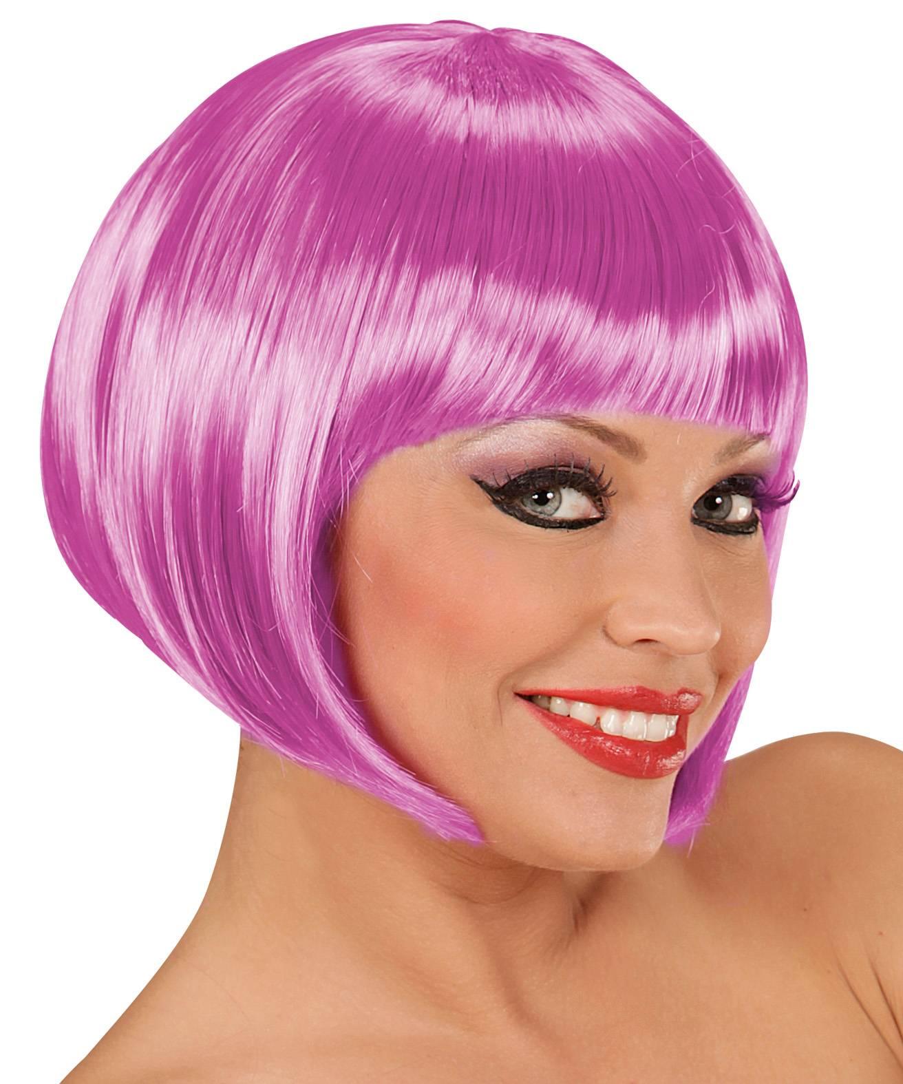Perruque violette pas chère