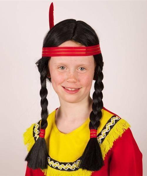 Perruque-Indienne-Enfant