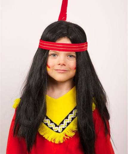 Perruque-Indien-Enfant