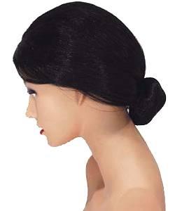 perruque femme avec chignon