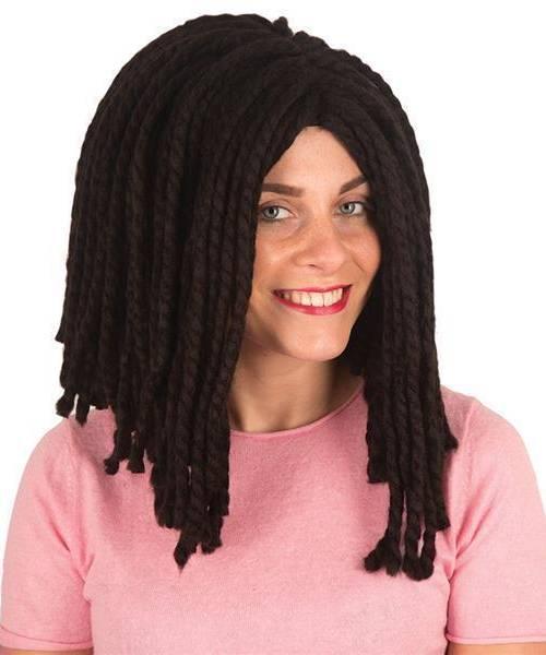 Perruque rasta femme - Perruque de déguisement