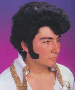 Perruque-Elvis