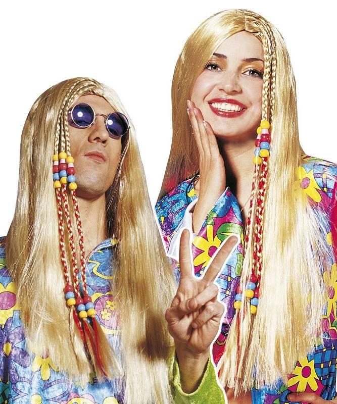 Perruque-Hippie-mixte-blonde