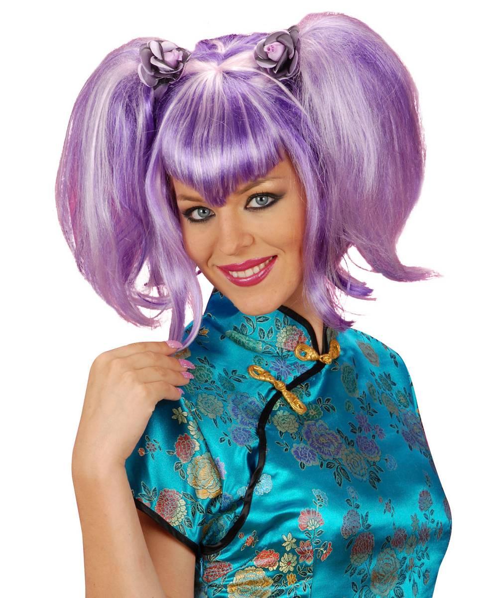 Perruque-Manga-violette-2