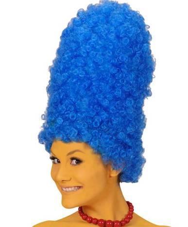 Perruque-Cartoon-bleue