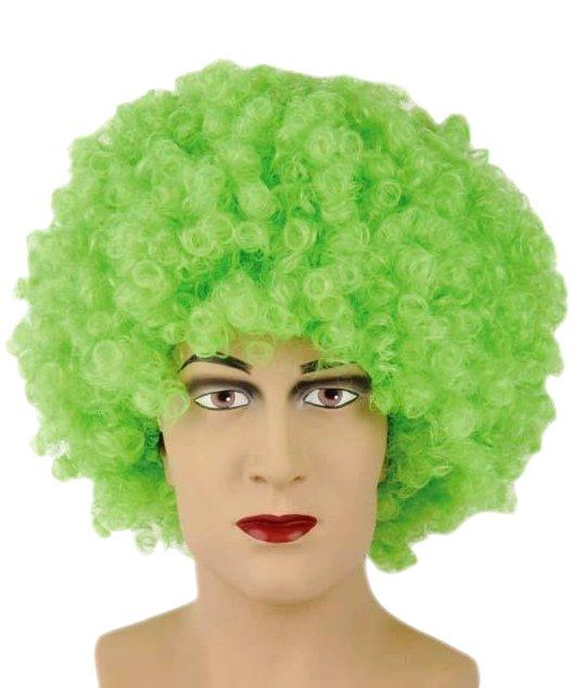 Perruque-Disco-Verte