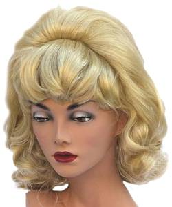 Perruque-Fifties-blonde-années-50