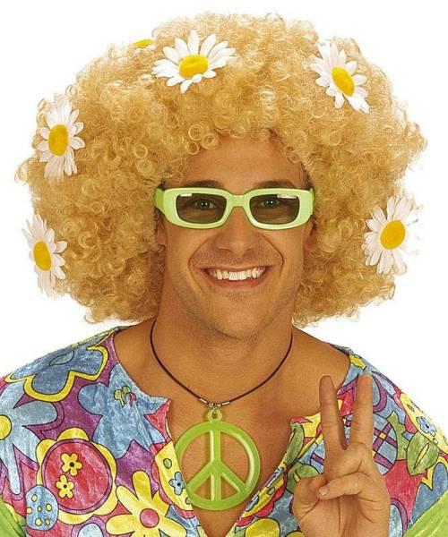 Perruque-Hippy-blonde-mixte