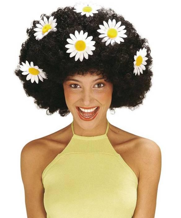 Perruque-Hippie-noire-mixte
