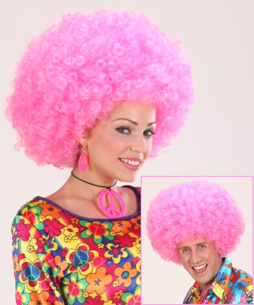 Perruque-Afro-Rose-M1