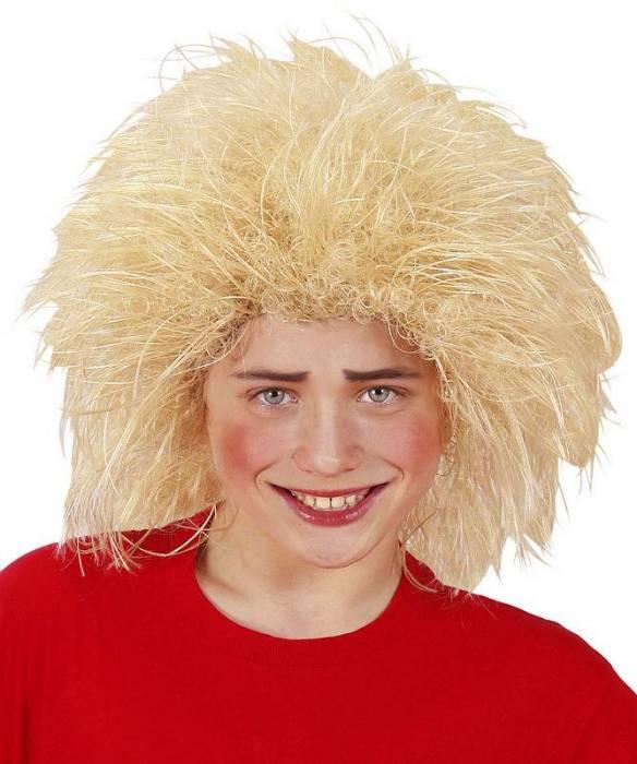 Perruque-Enfant-blonde-Touffe