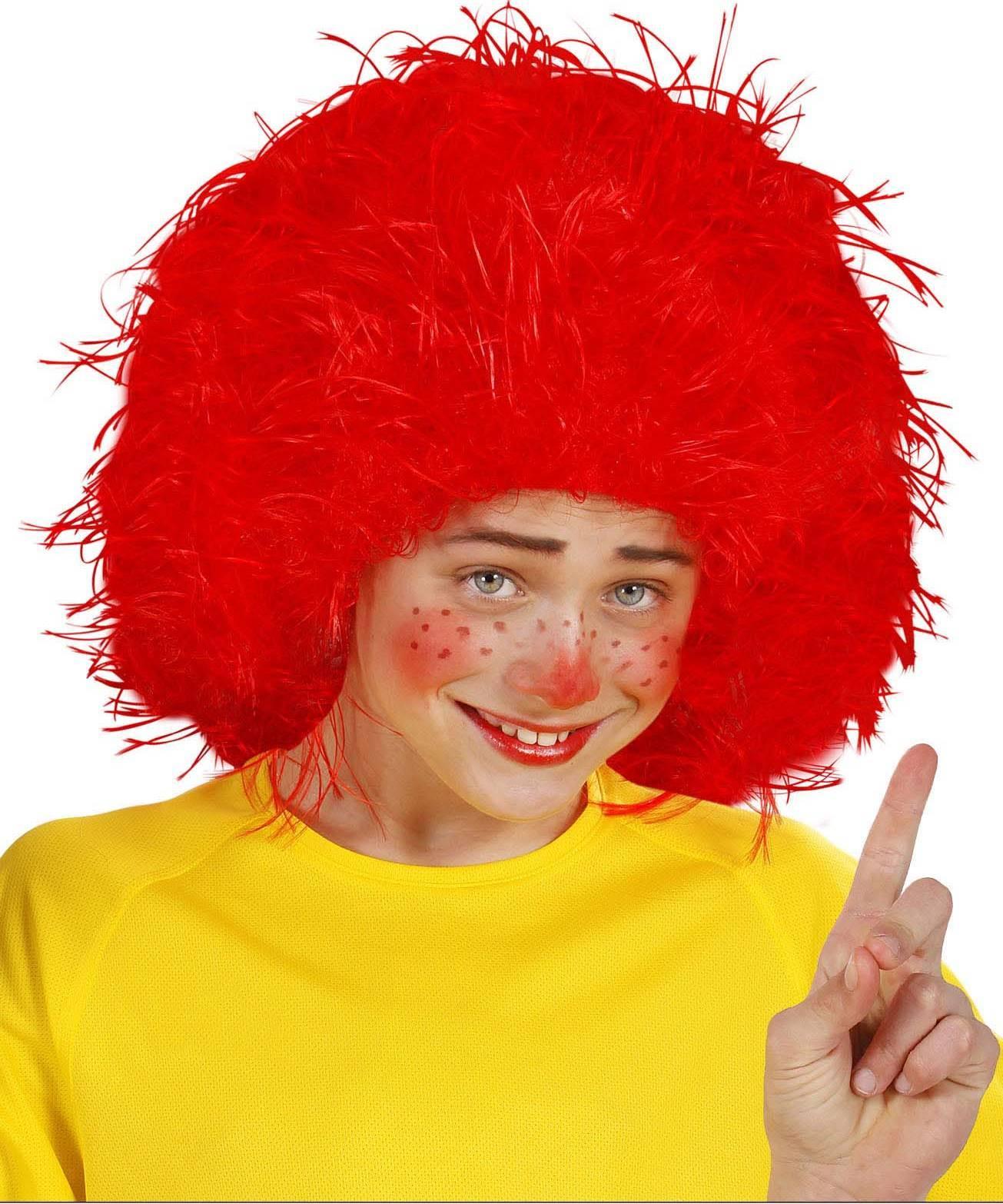 Perruque-Enfant-rouge-Touffe-rouge