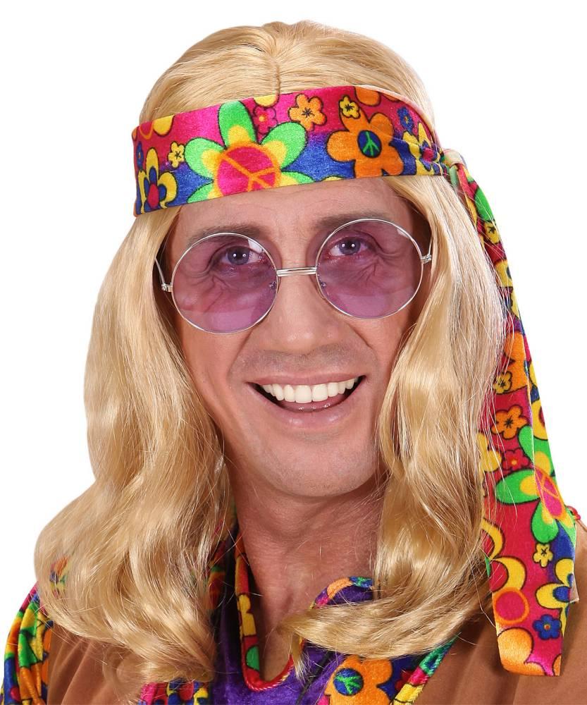 Perruque-Hippie-Lennon-Blond