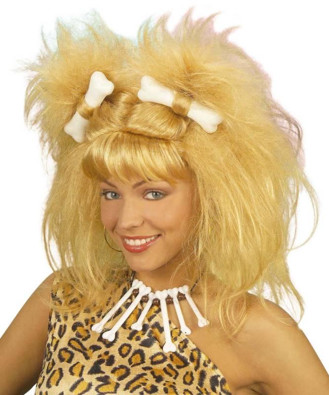 Perruque-Femme-des-cavernes-Primitive-Blonde