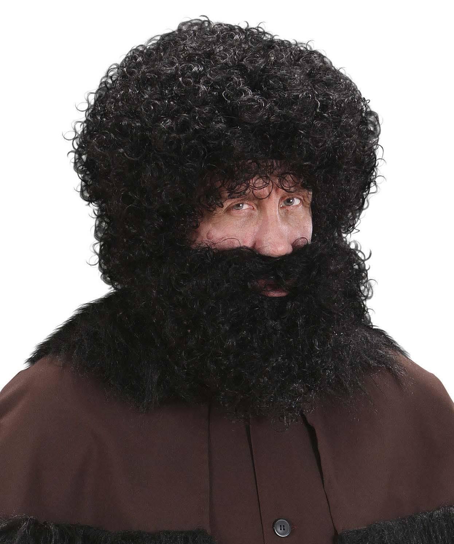 Perruque-Perruque-et-barbe-noire