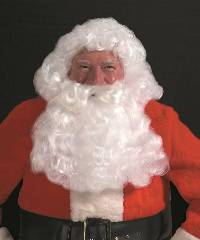 Weihnachtsmann-Perücke-Bart-Traditionelle