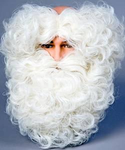 Barbe-de-Père-Noël-Luxe-avec-cheveux