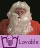 Weihnachtsmann-Perücke-Bart-Berufliche-Qualität