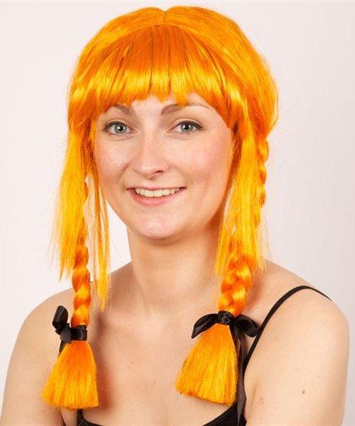 Perruque-Gauloise-Orange