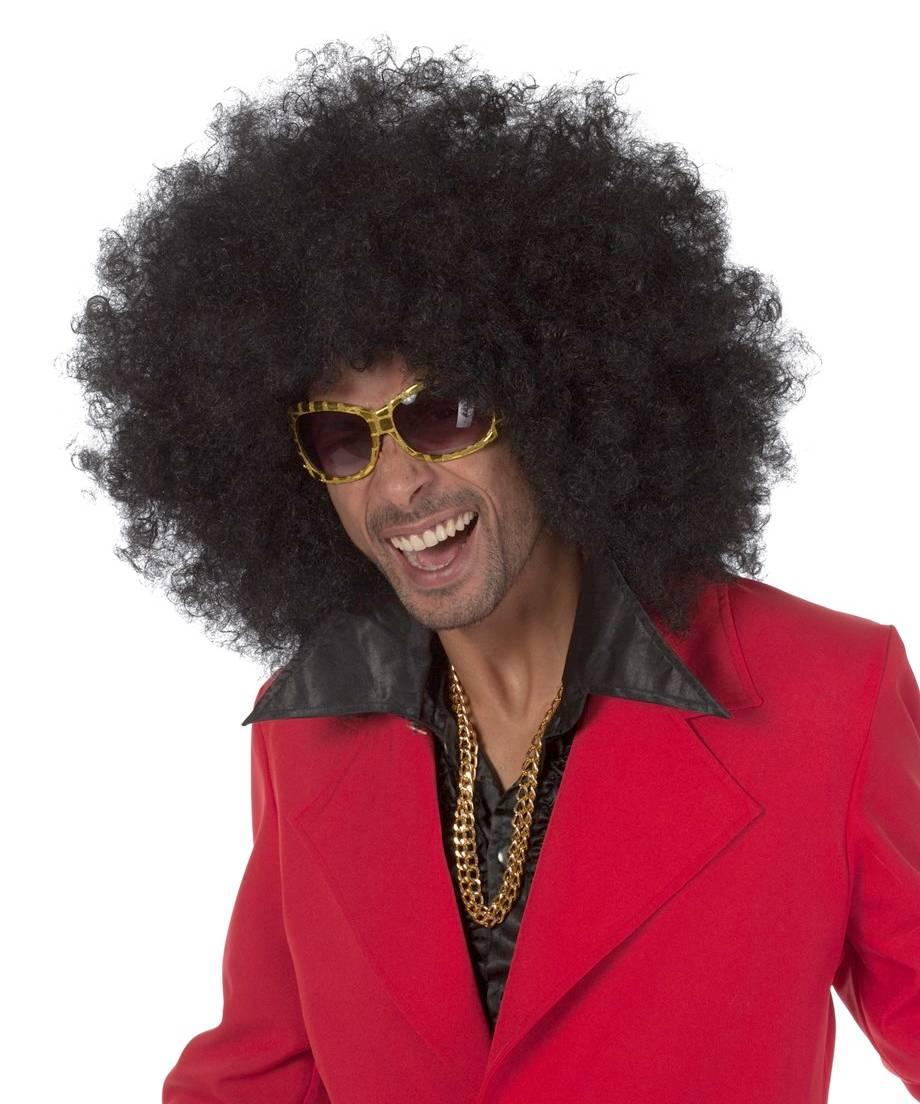 Perruque-Afro-géante